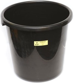 091-0054, CONDUCTIVE WASTE BIN, DIA 285MM,H 320MM