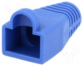 795-601303, Корпус вилки RJ45; 6мм; Цвет: синий