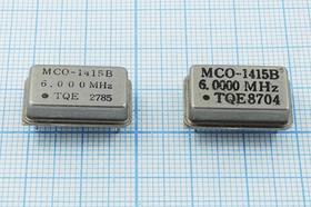 Фото 1/2 Кварцевый генератор 6МГц 5В, TTL в корпусе DIL14=FULL, выпаяны, гк 6000 \\FULL\TTL\5В\ MCO-1415B\TQG бу