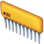 4608X-102-102LF, Фиксированный резистор цепи, 1 кОм, Серия 4608X ...