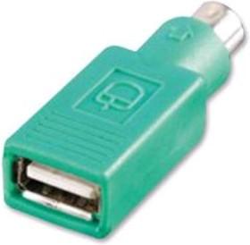 12.99.1072, PS/2, 6 вывод(-ов), Штекер, USB A, 4