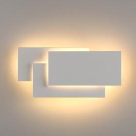 Фото 1/5 MRL LED 12W 1012 IP20 / Светильник настенный светодиодный Inside LED белый матовый