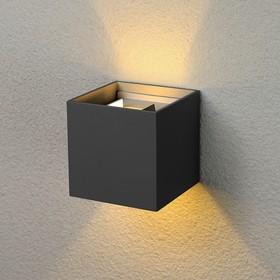 Фото 1/7 1548 TECHNO LED / Светильник садово-парковый со светодиодами WINNER черный