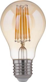 Фото 1/4 Classic F 8W 3300K E27/ Светодиодная лампа Classic F 8W 3300K E27 (A60 тонированный)