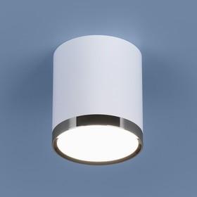 Фото 1/5 DLR024 6W 4200K / Светильник светодиодный стационарный белый матовый