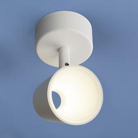 Фото 1/3 DLR025 5W 4200K / Светильник светодиодный стационарный белый матовый