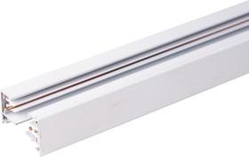 Фото 1/2 TRL-1-1-100-WH / Шинопровод электрический для светильников Однофазный шинопровод белый (1м.) /
