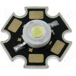 LL-HP60NWEB, LED мощный; STAR; белый холодный; 120°; P: 1Вт; 85?100лм