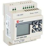 Реле программируемое 10 входов/выходов с дисплеем 230В PRO-Relay PROxima EKF ...