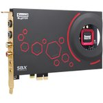 Звуковая карта PCI-E CREATIVE Sound Blaster ZXR, 5.1 ...