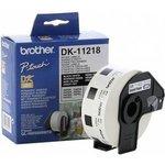 DK11218, Круглые бумажные наклейки DK-11218 диаметром 2,5 ...