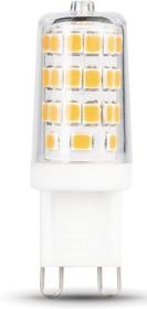 107309203 LED G9 AC185-265V 3W 4100K, Лампа светодиодная диммируемая 3Вт,220В
