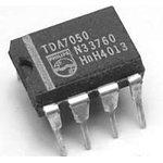 TDA7050/N3.112, Низковольтный моно/стерео усилитель, 1.6В…6В, 75/140мВт, 32 Ом, [DIP-8]