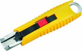 Фото 1/5 SAFETY KNIFE LC959, Нож технический с автоматическим убиранием лезвия