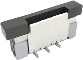 DS1020-18-06, Гнездо SMD прямое на сверхплоский шлейф 6 контактов