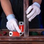 12-4839, Магнитный угольник-держатель для сварки на 4 угла, усилие 11,3 кг