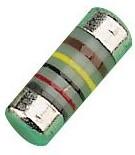 MMB02070C8202FB200, MELF резистор поверхностного монтажа, 82 кОм, 300 В, 400 мВт, ± 1%, Серия MMB 0207