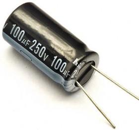 100мкф 250в 105° KL (16Х25) конденсатор BURNON