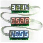 Фото 2/3 SHD0028G, Двухразрядный светодиодный семисегментный дисплей со сдвиговым регистром, зеленый