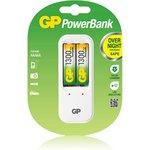 PB410GS130-2CR2, Устройство зарядное GP + 2 AA (1300мА*ч)