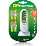 PB80GS270SA-UE4, Устройство зарядное GP + 4 AA(2700мА*ч)