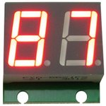 SHD0028R, Двухразрядный светодиодный семисегментный дисплей ...