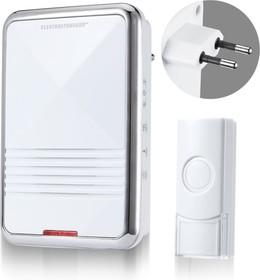 Фото 1/3 DBQ11M AC 36M IP44 / звонок электрический бытовой (дверной) / Белый