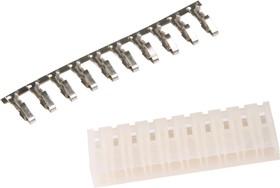 MHU-10 (DS1074-10 F), Розетка кабельная с контактами 5.08мм