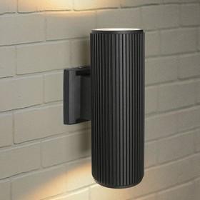 Фото 1/2 Techno 1403 черный, Настенный уличный светильник
