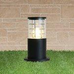 1508 TECHNO black черный, Ландшафтный светильник