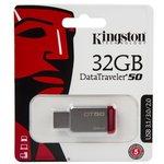 Флешка USB KINGSTON DataTraveler 50 32Гб, USB3.0 ...