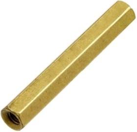 PCHSS-35 (Ni), Стойка для п/плат,шестигр., никель, М3, 35 мм