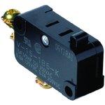 Фото 2/3 V-15-1B6, Switch Snap Action N.O./N.C. SPDT Pin Plunger 15A 250VAC 250VDC 372.85VA Screw Mount Screw