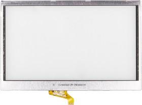 "Сенсорное стекло (тачскрин) для GPS навигатора 4.8"" (7.0x11.3 см) №25"