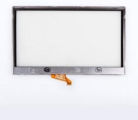 "Фото 1/2 Сенсорное стекло (тачскрин) для GPS навигатора 4.8"" (11.4x7.0 см) №24"