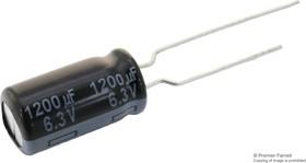 Фото 1/2 EEUFR1C222B, Электролитический конденсатор, 2200 мкФ, 16 В, Серия FR, ± 20%, Радиальные Выводы, 12.5 мм