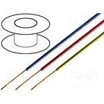 TAS-C130-BLUE, Провод монтажный одножильный 1x0,22мм2 синий