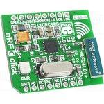 MIKROE-1304, Дочерняя плата, SPI, mikroBUS, nRF24L01P 2.4 GHz transceiver