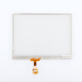"Фото 1/2 Сенсорное стекло (тачскрин) для GPS навигатора 3.6"" (7.8x6.5 см) №4"
