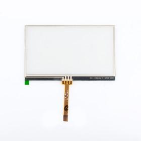 "Фото 1/2 Сенсорное стекло (тачскрин) для GPS навигатора 4.5"" 10.5x6.5 см №9"