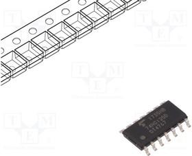Фото 1/2 74HC125D(BJ), Buffer/Line Driver 4-CH Non-Inverting 3-ST CMOS 14-Pin SOIC T/R