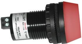 ZT028LDFP1R, INDUSTRIAL ALARM W/ LED, 95DBA, 28VDC
