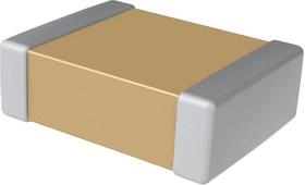 Фото 1/2 12065A100JAT2A, Многослойный керамический конденсатор, 1206 [3216 Метрический], 10 пФ, 50 В, ± 5%, C0G / NP0
