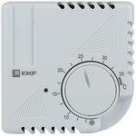 Термостат NO/NC (охлаждение/обогрев) накладной 16А 230В IP20 PROxima EKF ...