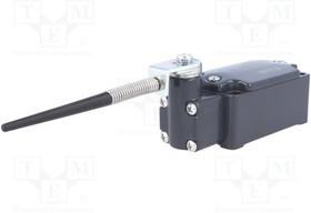 FD 534, Концевой выключатель; стержень на пружинном элементе R 106 мм
