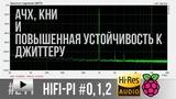 Смотреть видео: Измерение характеристик цифровых аудио карт для Raspberry Pi: КНИ, АЧХ и Джиттер-тест.