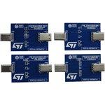 STEVAL-OET004V1, Оценочная плата, устройство защиты USB ...