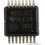 MAX3232IDB, IC, RS-232 TRANSCEIVER, 5.5V, SSOP-16