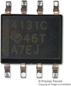 THS4131CD, DIFFERENTIAL AMPLIFIER, 150MHZ, 52V/uS, SOIC-8