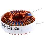 Фото 3/4 2312-V-RC, Тороидальный индуктор, сильноточный, Серия 2300, 100 мкГн, 7 А, 0.037 Ом, ± 15%